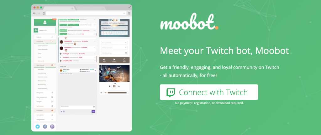 Moobot Twitch bot