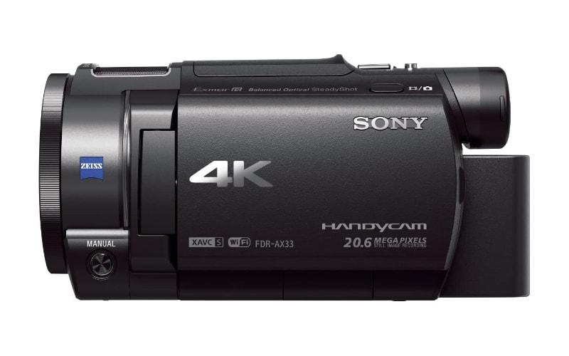 4K Sony FDR AX33