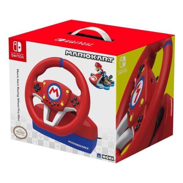 Volant Hori Switch Mario Kart Racing Wheel Pro Mini - Volant et pédales