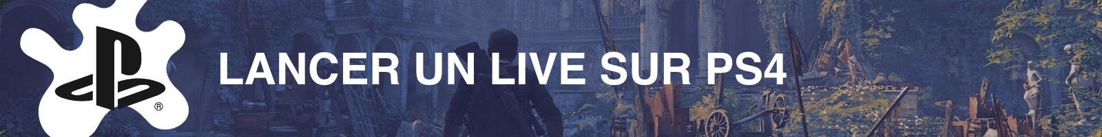 Lancer un live Twitch sur PS4